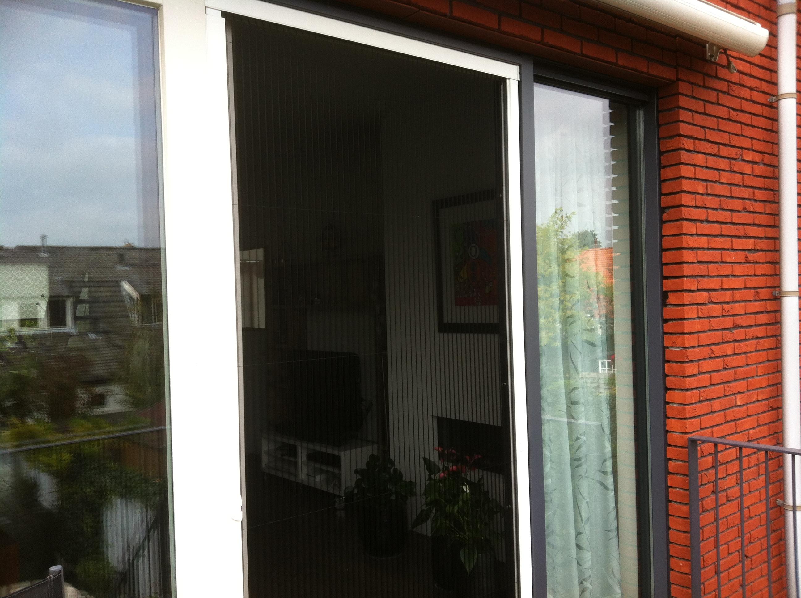 Hordeur Openslaande Deuren : Jochems zonwering plisee deuren jochems zonwering